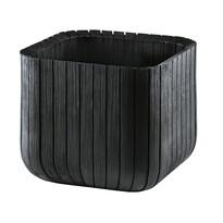 Keter Kvetináč Cube planter hnedá, 30 x 30 cm
