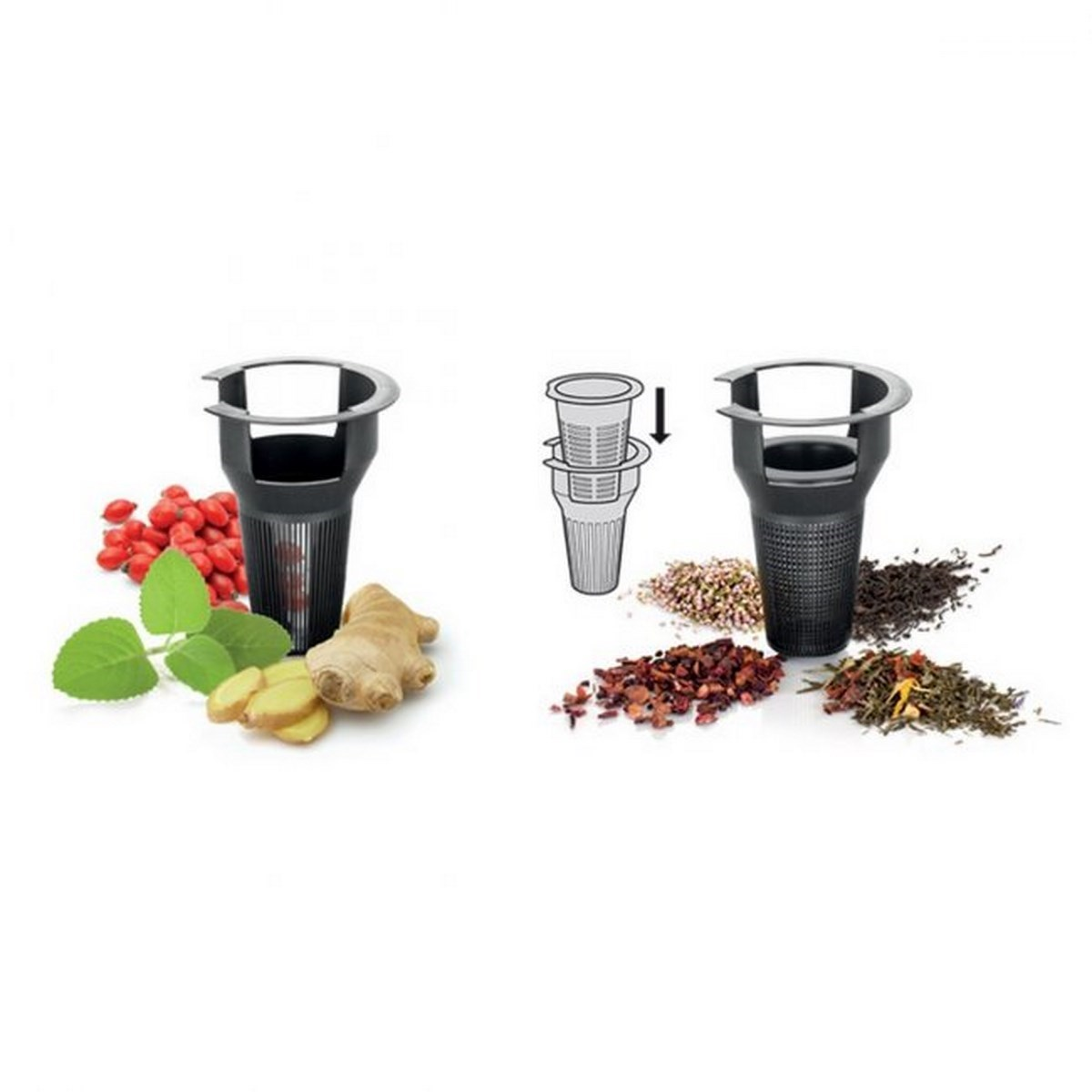 Tescoma TEO teafőző kanna, áztató szűrővel, 1,25 l