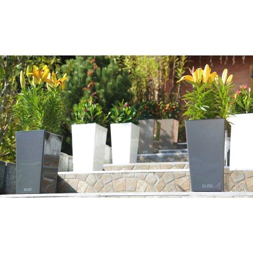 Gardenico Kvetináč Elise matt antracit, 30 x 58 cm