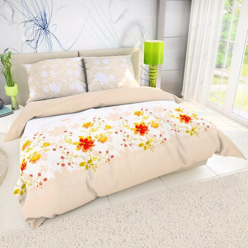Bavlněné povlečení Delux Primavera, 220 x 200 cm, 2 ks 70 x 90 cm
