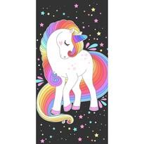 Prosop Unicorn Curcubeu, 70 x 140 cm