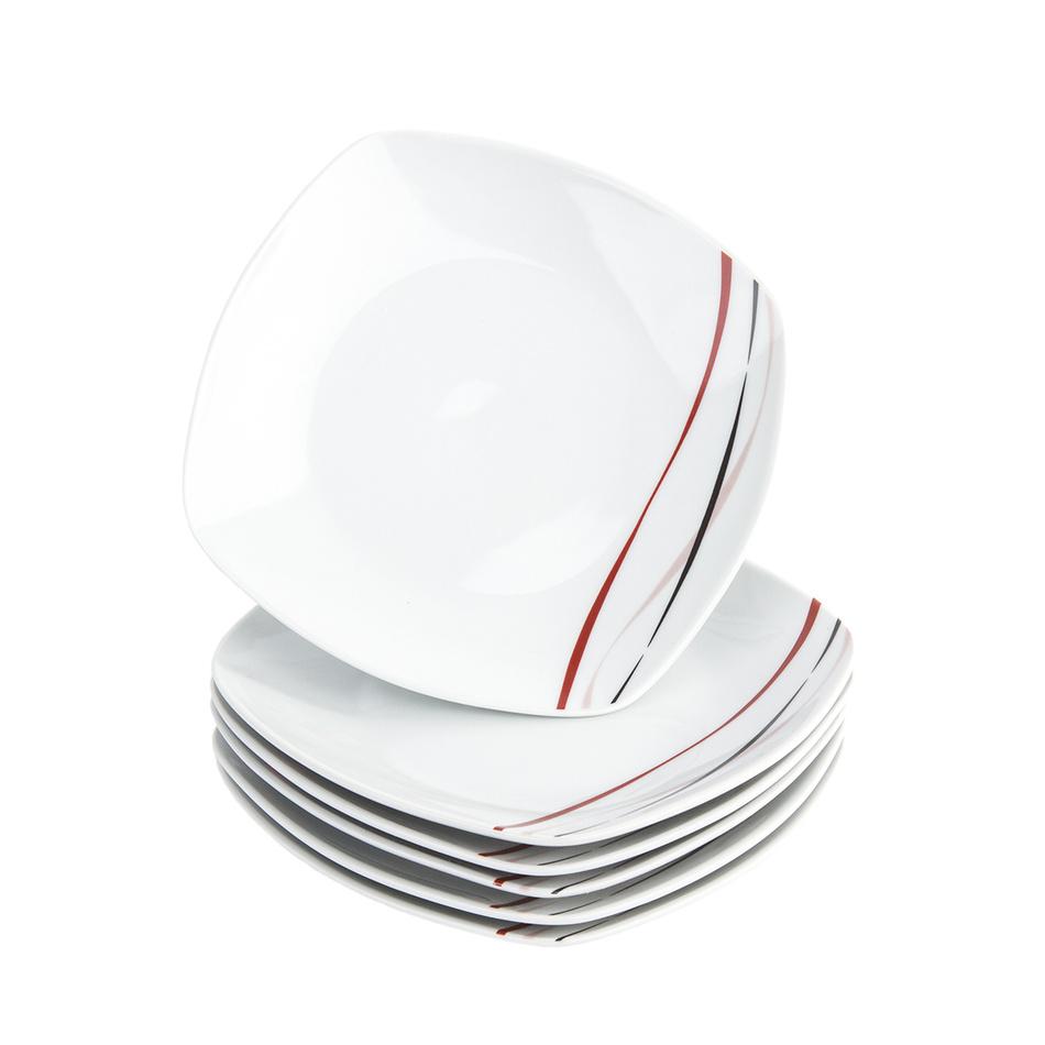 Fotografie Domestic 6dílná sada dezertních talířů Amelie, 19 cm