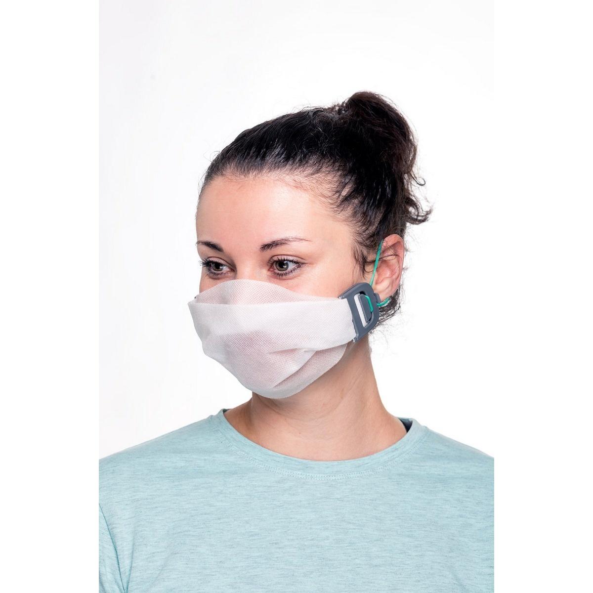 Plastia Clemă pentru mască galbenă S imagine 2021 e4home.ro