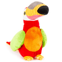 Koopman Tukan pluszowy, czerwony