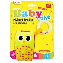 Baby Mobil plyšový Sova s melodií a chrastítkem
