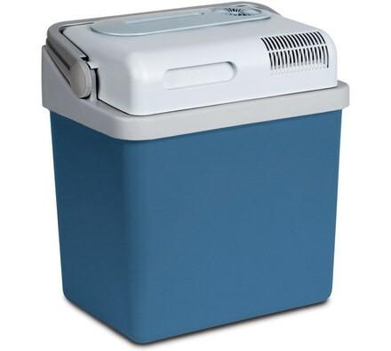 Dobíjecí cestovní lednička, SCM 1025, Sencor, bílá + modrá