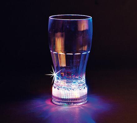 Svítící sklenice