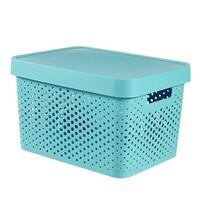 Curver Infinity tároló doboz 17 l, kék