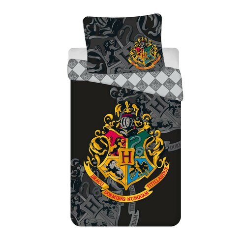 Bavlněné povlečení Harry Potter, 140 x 200 cm, 70 x 90 cm