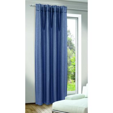 Albani Draperie cu cordoane ascunse Jolie albastră, 135 x 245 cm
