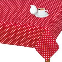 Față de masă Adéla Inimioare roșii