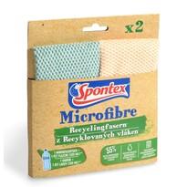 Spontex Utěrka Microfiber Recycled