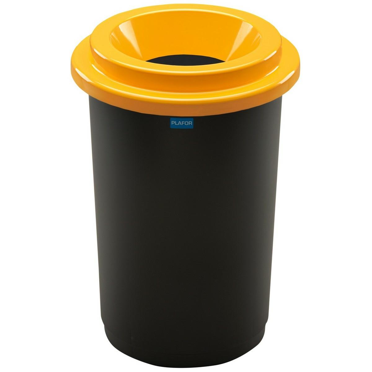 Aldotrade Odpadkový kôš na triedený odpad Eco Bin 50 l, žltá