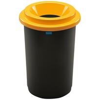Aldotrade Kosz na śmieci na odpady segregowane Eco Bin 50 l, żółty