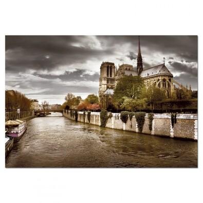 Puzzle Notre Dame Paříž, 1000 dílků