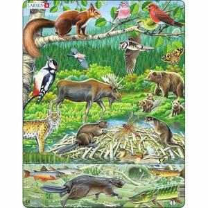 Larsen Puzzle Severský les, 45 dílků