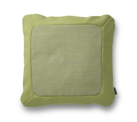 Polštářek Frame 50 x 50 cm, zelený