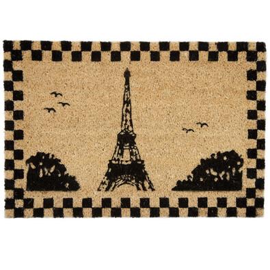 Ștergătoare cocos Turn Eiffel, 40 x 60 cm