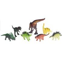 Dziecięcy zestaw do zabawy Dinosaur safari, 7 elem.