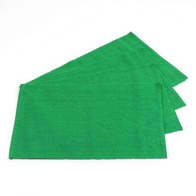 Prostírání Hera tmavě zelená, 30 x 45 cm, sada 4 ks