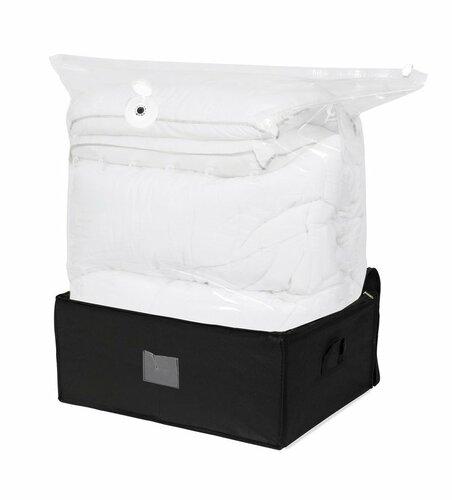 Compactor Cutie de depozitare în vid cu husă Black Edition XXL, 210 l imagine 2021 e4home.ro