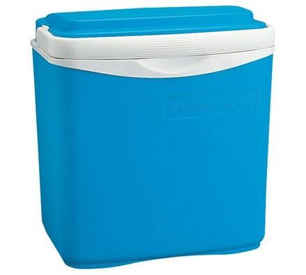 Cestovní lednička, 30 l, ICETIME, bílá + modrá
