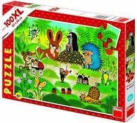 Puzzle Krteček na koncertě Dino Toys, 100XL dielik, viacfarebná
