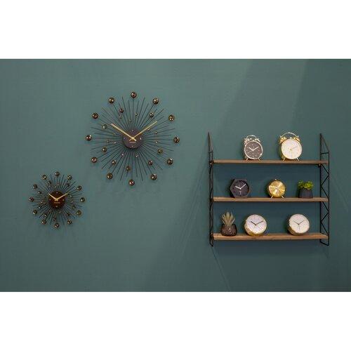 Karlsson 4859BK Designové nástenné hodiny, 50 cm