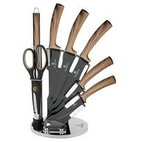 Berlinger Haus 8-częściowy zestaw noży z nieprzywierającą powierzchnią, Forest Line
