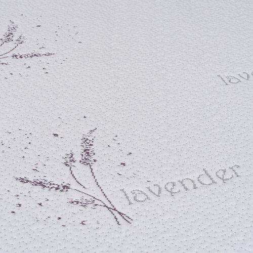 4home Lavender Nepriepustný chránič matraca s gumou, 180 x 200 cm