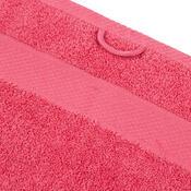 Ręcznik kąpielowy Olivia różowy, 70 x 140 cm