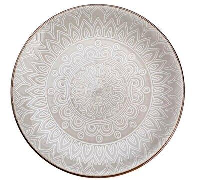 Florina Talerz deserowy Maroko 20 cm, szary