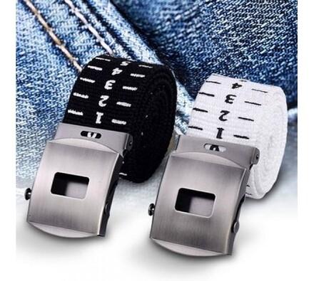 Měřící pásek, bílá + černá