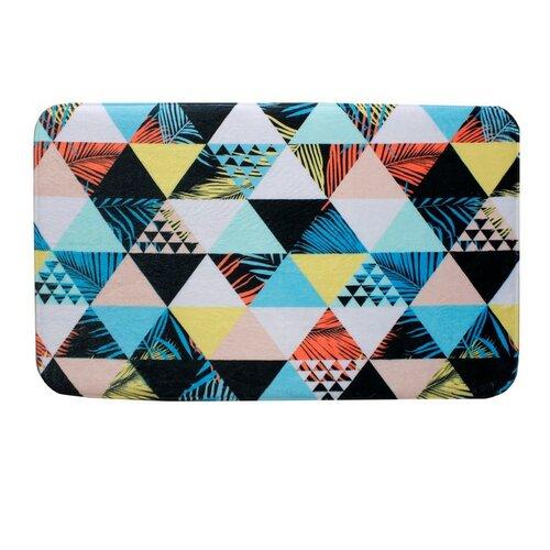 Domarex Dywanik z pianki z pamięcią Soft Geometry, 50 x 80 cm