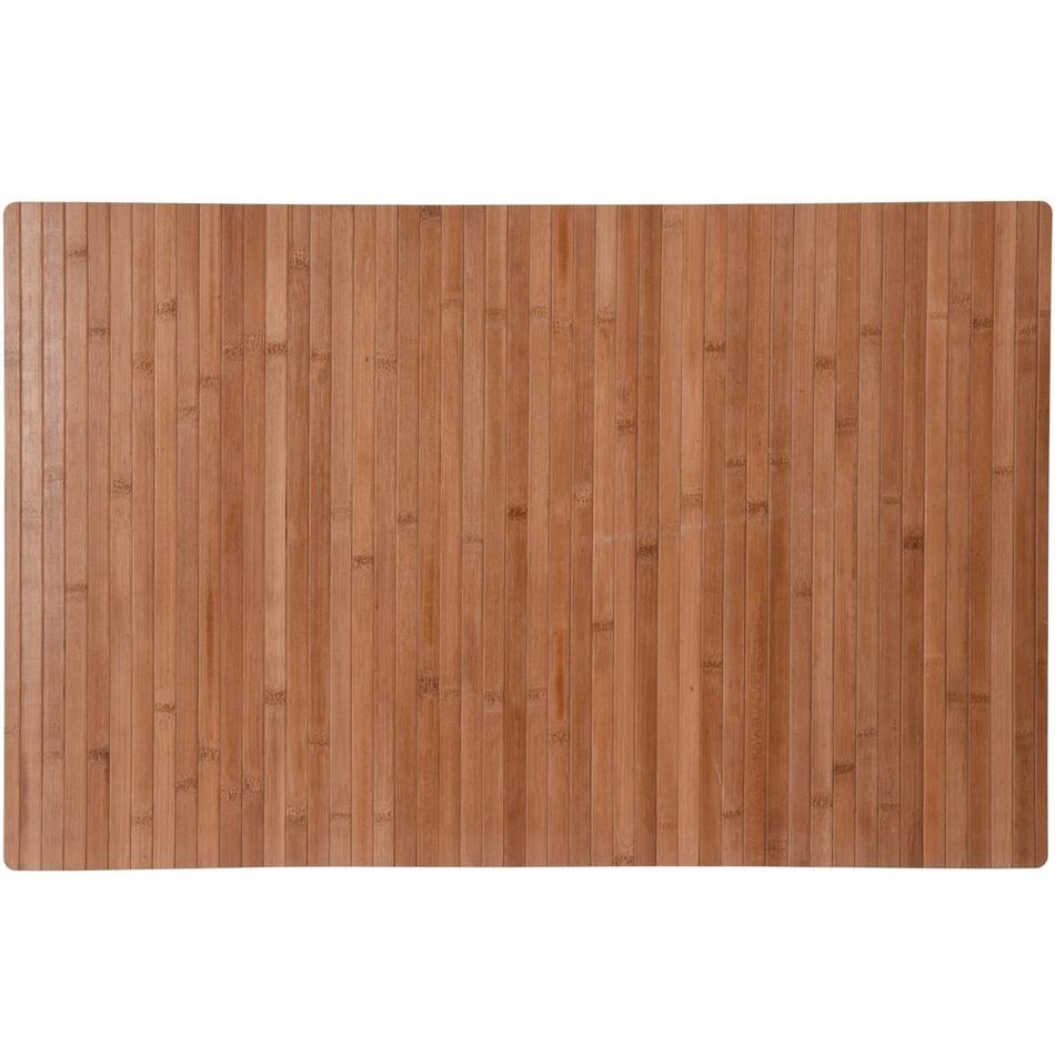 Koupelnová předložka Bamboo, světle hnědá
