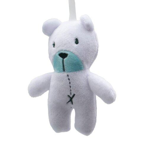 New Baby Detské hojdacie ležadlo Teddy, mentolová