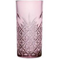 Timeless 4-dielna sada pohárov 450 ml, ružová
