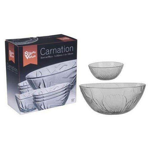 Carnation 7dielna kompótovej sada