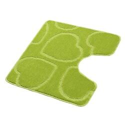 Koupelnová předložka Srdce WC, zelená, 60 x 50 cm