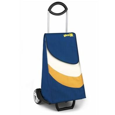 Gimi Easy nákupní taška na kolečkách modrá