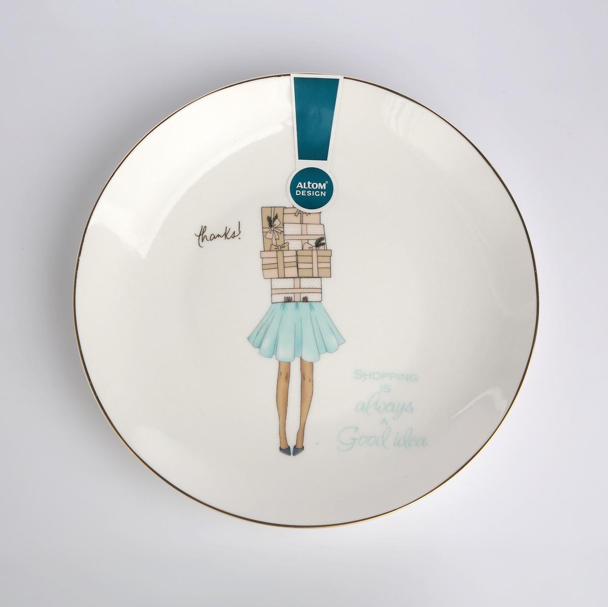 Altom Dezertný talier Fashion 20 cm, biela