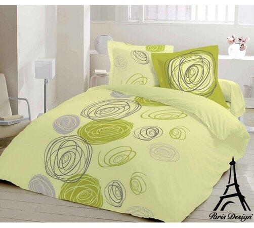 Saténové obliečky Viola Green, 140 x 200 cm, 70 x , svetlo zelená, 140 x 200 cm, 70 x 90 cm