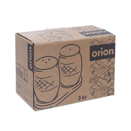 Orion 3-dielna sada soľničky a koreničky s podtáckou Bambu