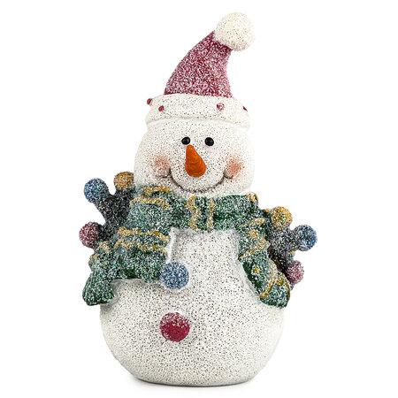 Vánoční sněhulák