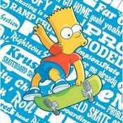 Polštářek The Simpsons Bart, 40 x 40 cm