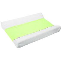 Nepromokavá podložka na přebalovací pult zelená, 25 x 100 cm