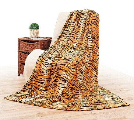 Deka s tygřím vzorem 4Home, 150 x 200 cm