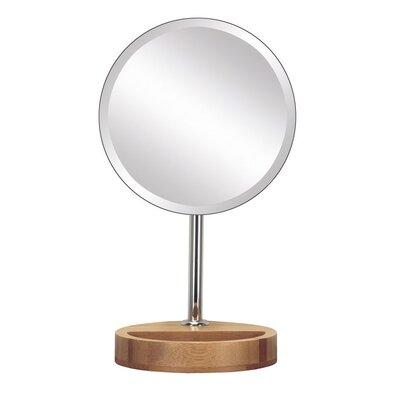 Kleine Wolke Kozmetikai tükör Timber  átmérő 17 cm