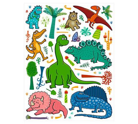 Samolepící dekorace Dino