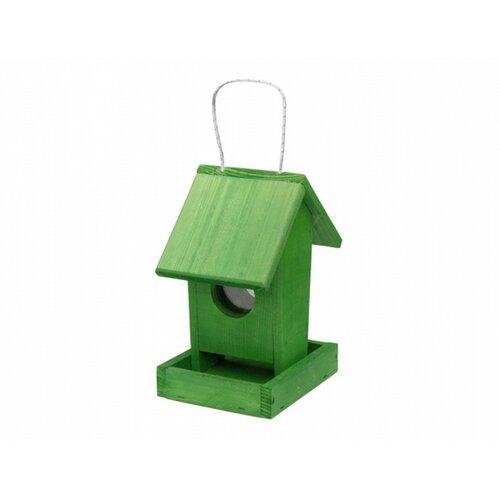 Kŕmidlo pre vtáčiky Apartment, zelená